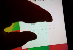 Pinch to Calendar
