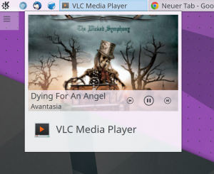 Controlling VLC Media Player through its Task Manager entry